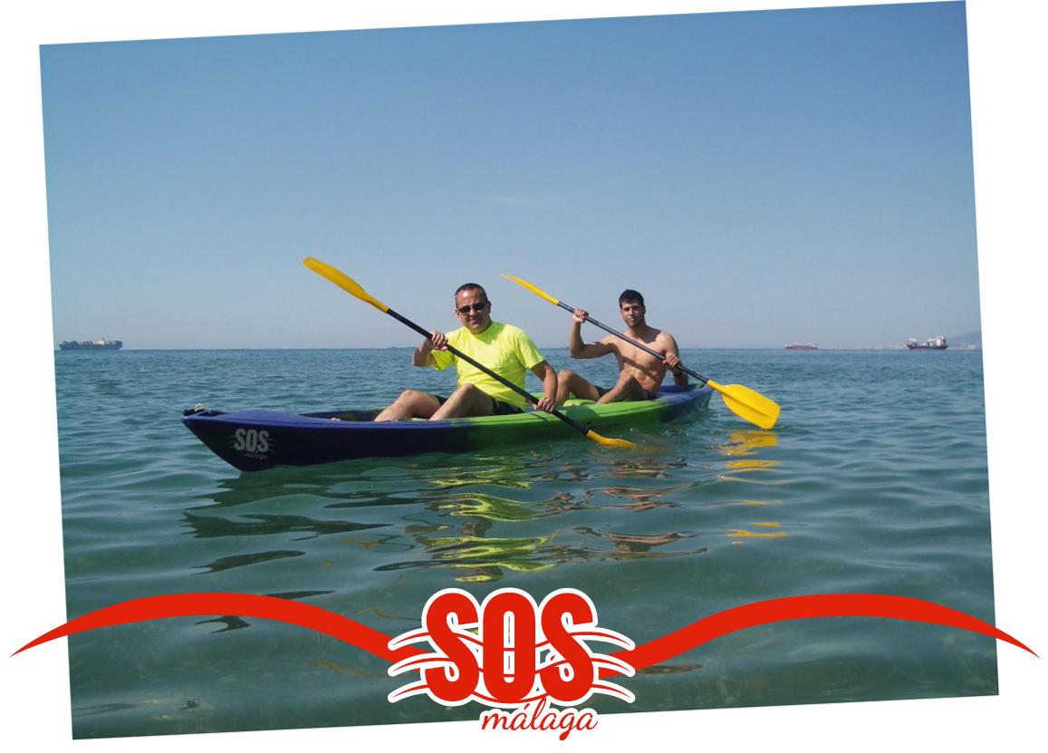 rutas en kayak en la provincia de malaga en ríos, pantanos y en el mar mediterraneo